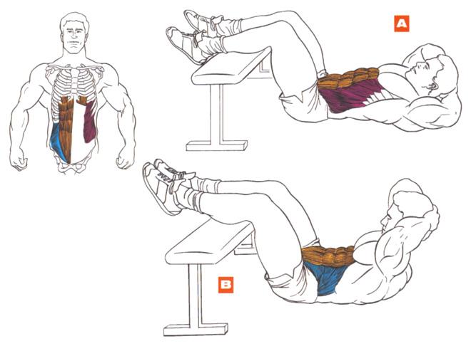 Упражнения для рельефа мышц в домашних условия 602
